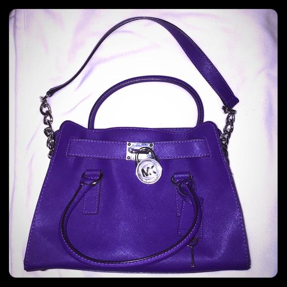 3d1300fca5ec SALE! Michael Kors Hamilton Tote purse handbag. M_5c2eb22b3e0caa651398133a